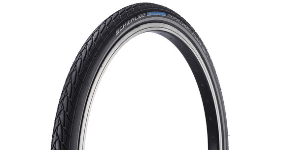 "SCHWALBE Marathon Plus Dæk Performance 20"" trådkant sort"